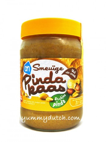 Albert Heijn Peanut Butter With Nuts Large