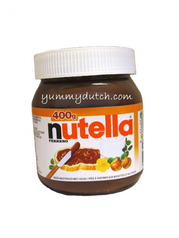 chocolate paste nutella yummy dutch