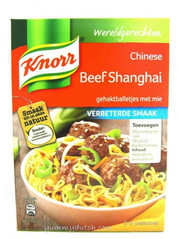 Knorr Chinese Beef Shanghai