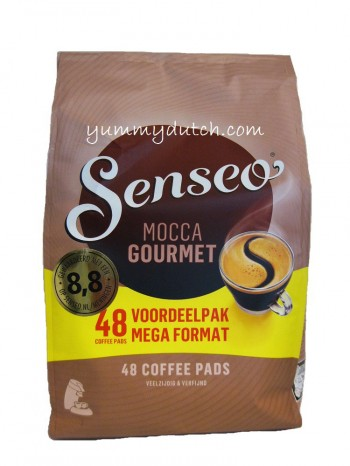 Douwe Egberts Senseo Coffee Pods Mocca Gourmet 48