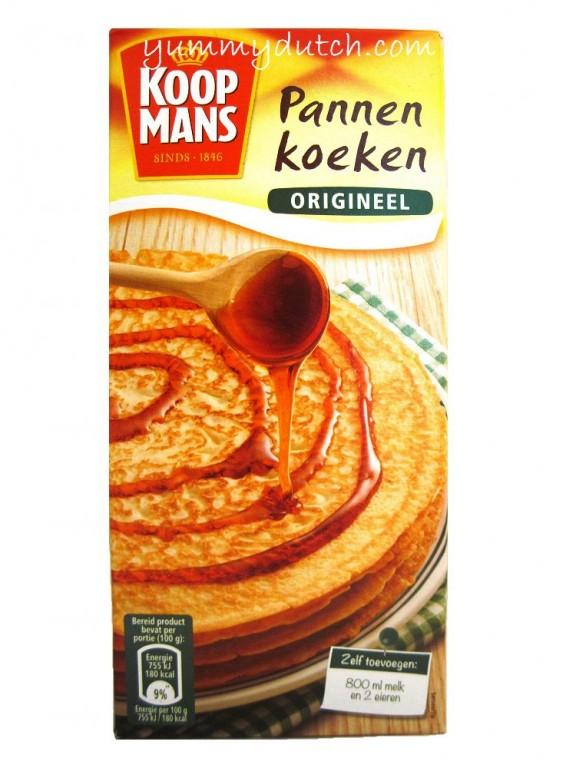 pannenkoekenmix origineel koopmans yummy dutch