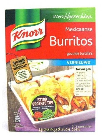 Knorr Mexican Burritos