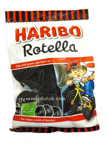 Haribo Jo-Jo Rotella Licorice