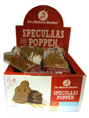 Molen Spiced Cookie Dolls Big 22 Pieces