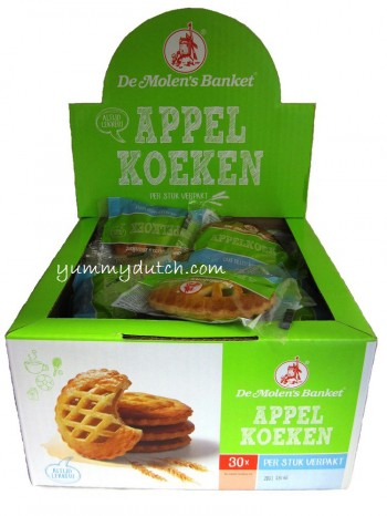 Molen Apple Cakes Box 30 Pieces