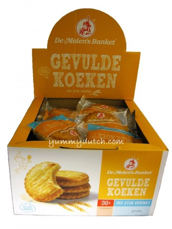 Molen Almond Paste Filled Cake Box 30 Pieces