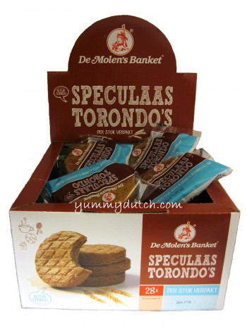 Molen Spiced Torondo Cakes Box 28 Pieces