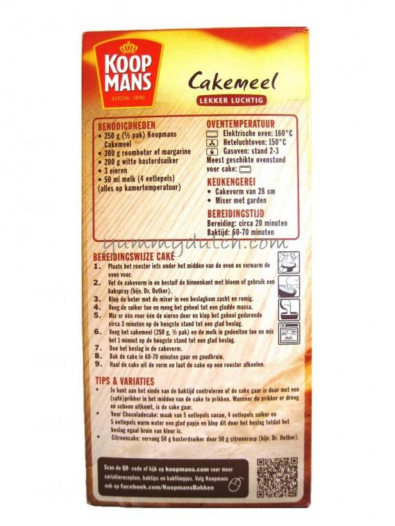 koopmans cake recept