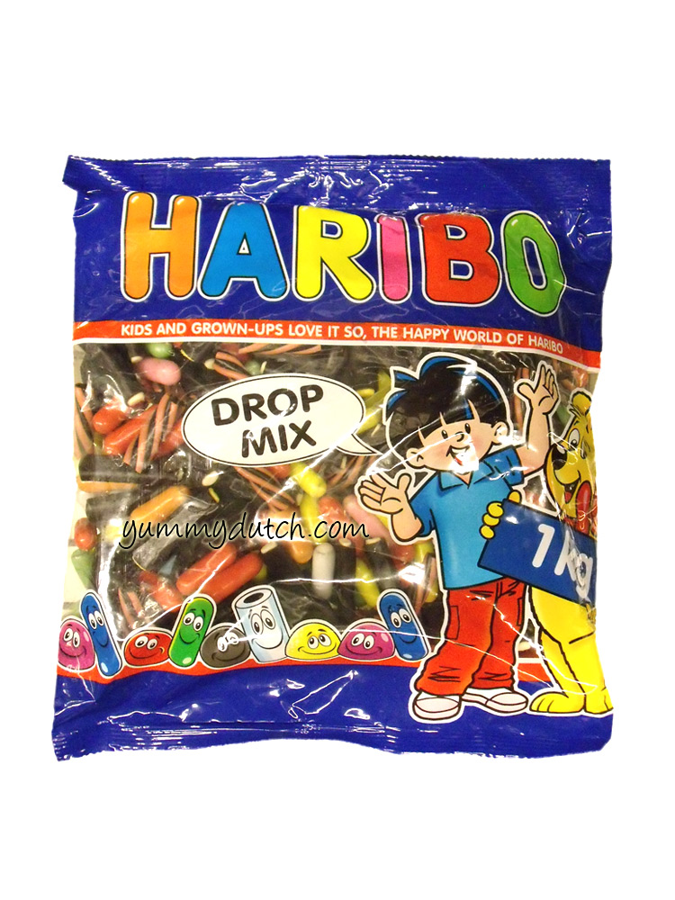 Haribo Licorice Mix Large