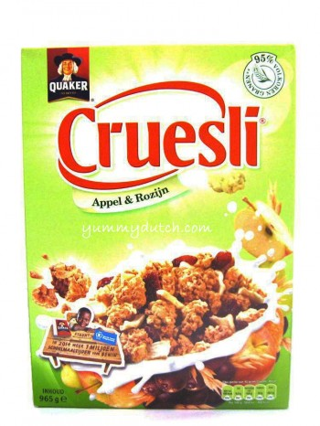 Quaker Cruesli Apple And Raisins Big