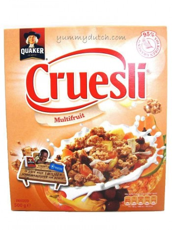 Quaker Cruesli Multifruit