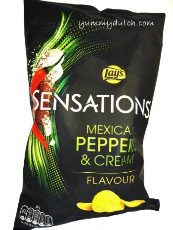 Lays Sensations Mexican Peppers And Cream
