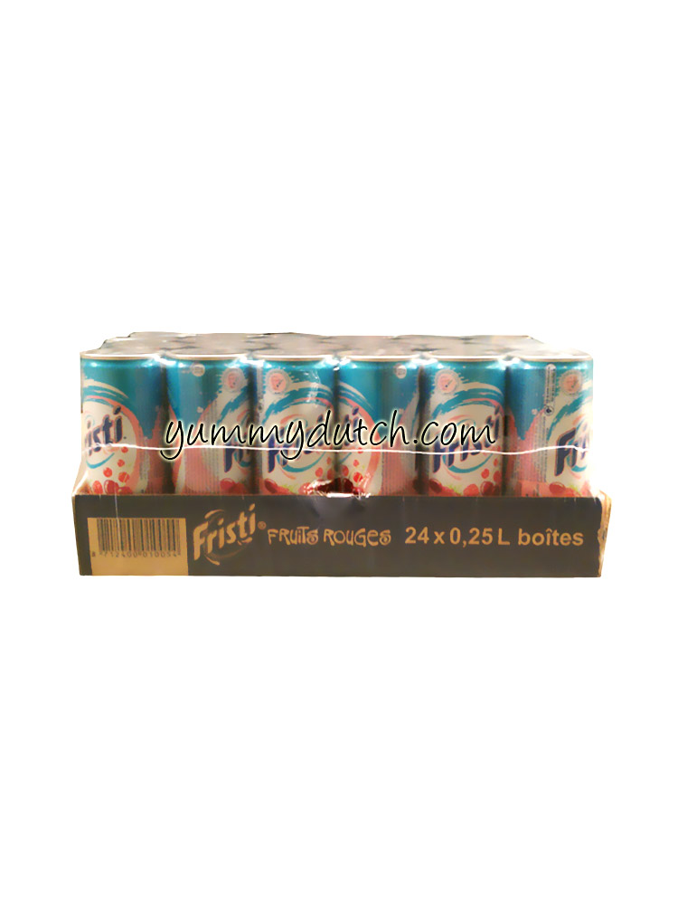 Fristi Fristi Red Fruits 24 Cans