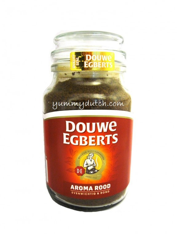 Instant Coffee Red Blend Douwe Egberts Yummy Dutch