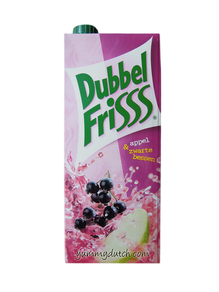 Frieslandcampina DubbelFrisss Apple Black Berries