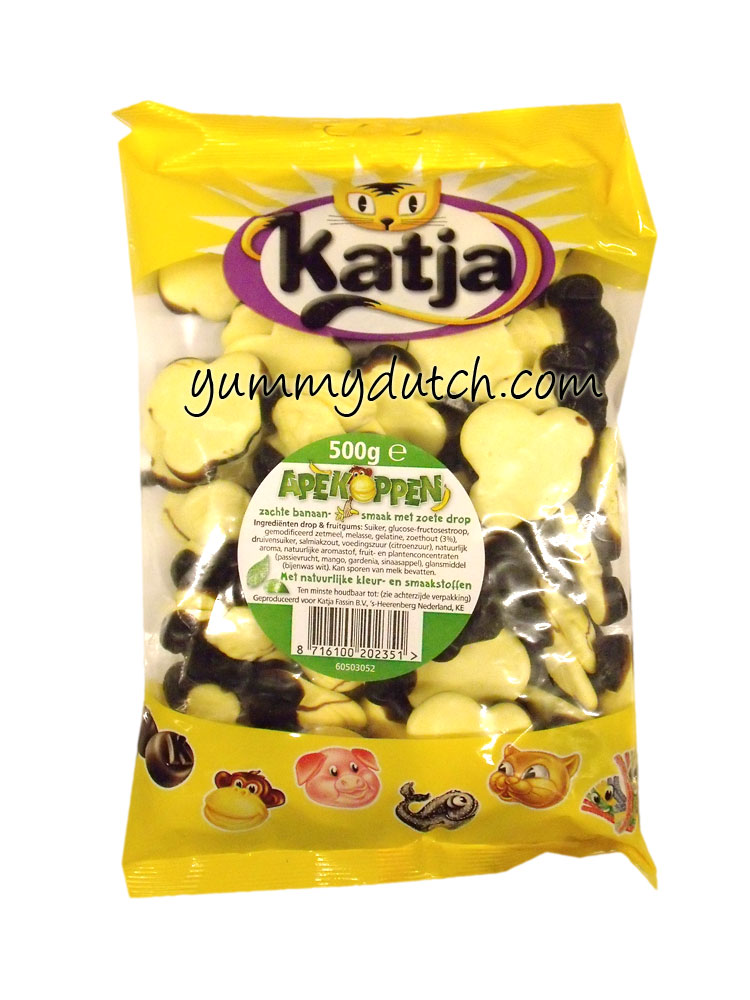 Katja Monkeyheads Banana Licorice Big