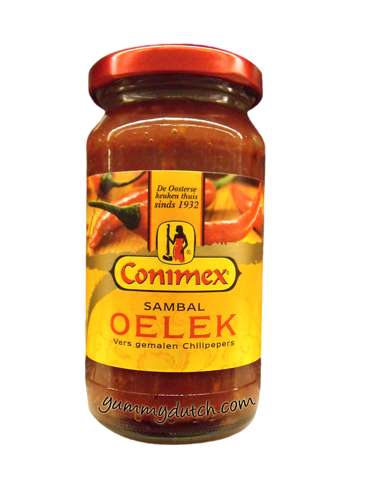 Sambal Oelek Conimex Yummy Dutch