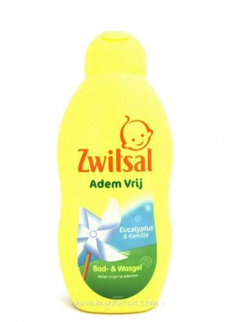 Zwitsal Bath And Wash Gel Eucalyptus