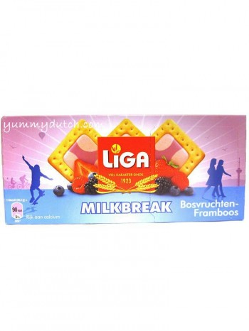Liga Milkbreak Forest Fruits Raspberry