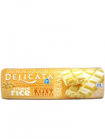 Albert Heijn Delicata White Chocolate Bar Crisped Rice