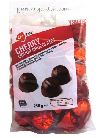 AH Basic Cherry Liquor Chocolates