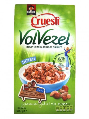 Quaker Cruesli Full-Of-Fibers Nuts