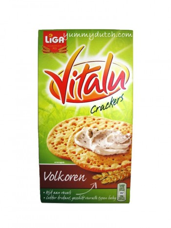 Liga Vitalu Wholegrain Crackers