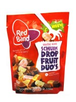 Red Band Foam Licorice Fruit Duos