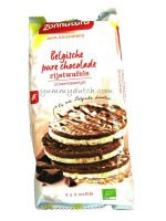 Zonnatura Organic Puffed Rice Cakes Dark Chocolate