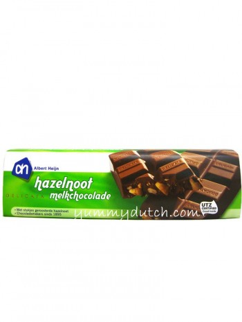 Albert Heijn Delicata Hazelnut Milk Chocolate Bar