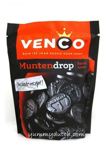 Venco Coins Licorice Hard And Sweet