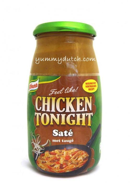 Chicken Tonight Sate Knorr | Yummy Dutch
