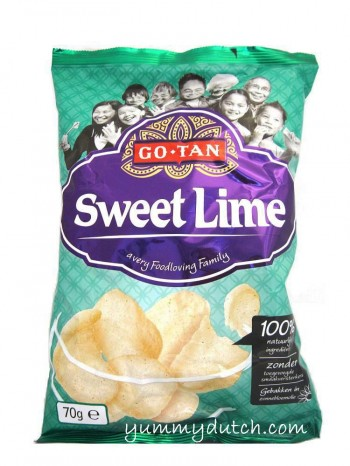 Go Tan Prawn Crackers Sweet Lime