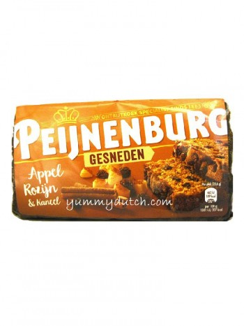 Peijnenburg Pepper Cake Apple CInnamon Raisins