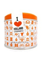 Daelmans Stroopwafels In Blik I Love Holland