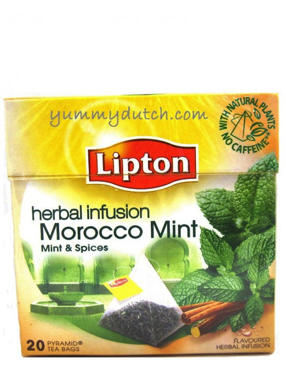 Herbal Infusion Morocco Mint Lipton Yummy Dutch