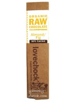 Lovechock Organic Chocolate Bar Almond-Fig