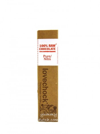 Lovechock Organic Chocolate Bar Dark