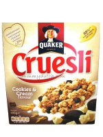 Quaker Cruesli Cookies & Cream