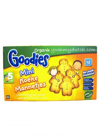 Organix Goodies Organic Gingerbread Men Cookies