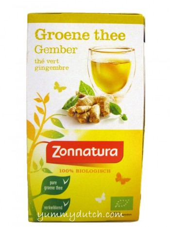 Zonnatura Organic Green Tea Ginger