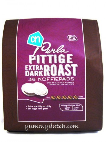 Albert Heijn Perla Coffee Pods Extra Dark 36