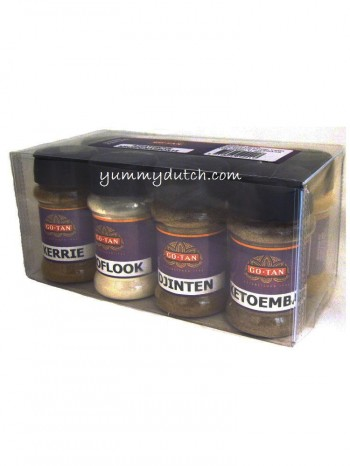 Go Tan Assorted Asian Spices Set