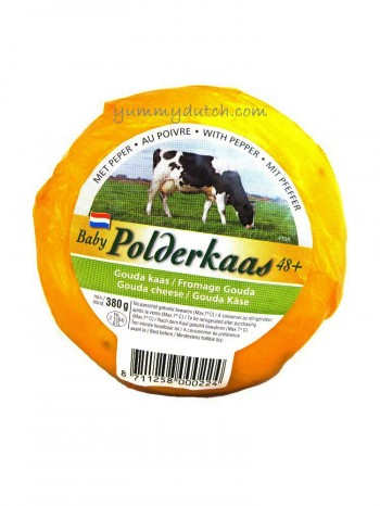 Polderkaas Baby Gouda Cheese With Pepper