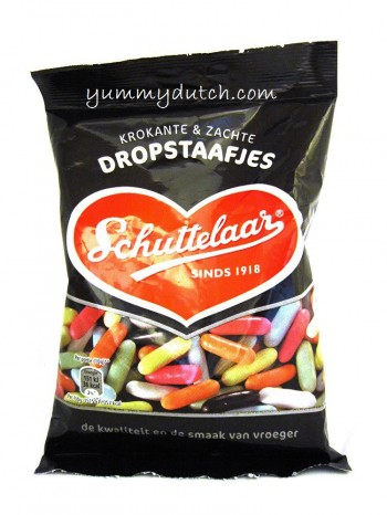 Schuttelaar Dropstaafjes - Licorice Sticks