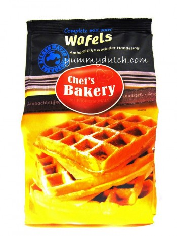 Chefs Bakery Professional Baking Mix Complete For Waffles