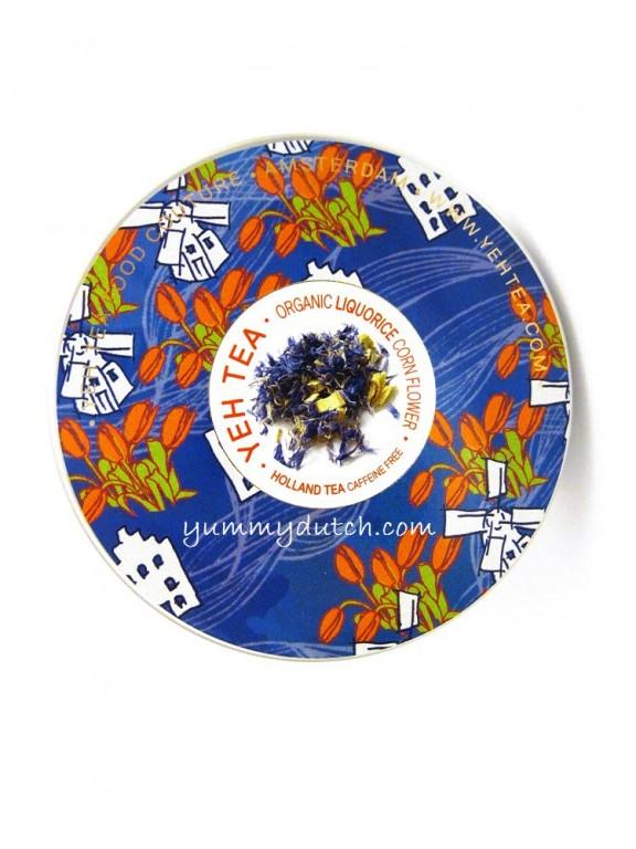 Holland Tea Organic Liquorice Corn Flower Yeh Tea   Yummy Dutch