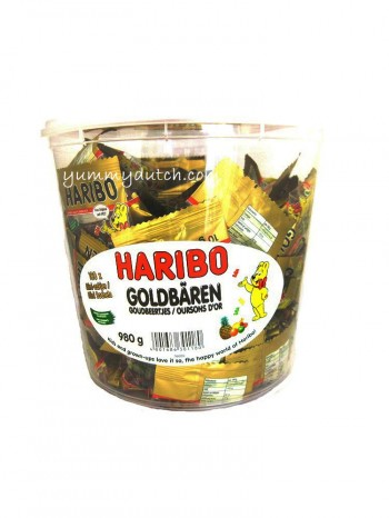 Haribo Goldbears Tub 100pcs