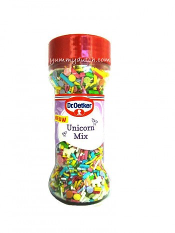 Dr Oetker Decoration Sprinkles Unicorn Mix