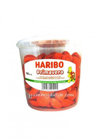Haribo Primavera Strawberry Foam Candy